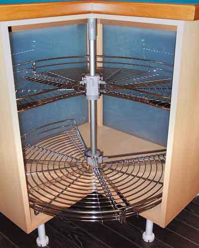 Kitchen Cabinets Ideas kitchen corner cabinet carousel : Corner Carousel Â« Fitted Kitchens Clare   Fitted Furniture Clare ...